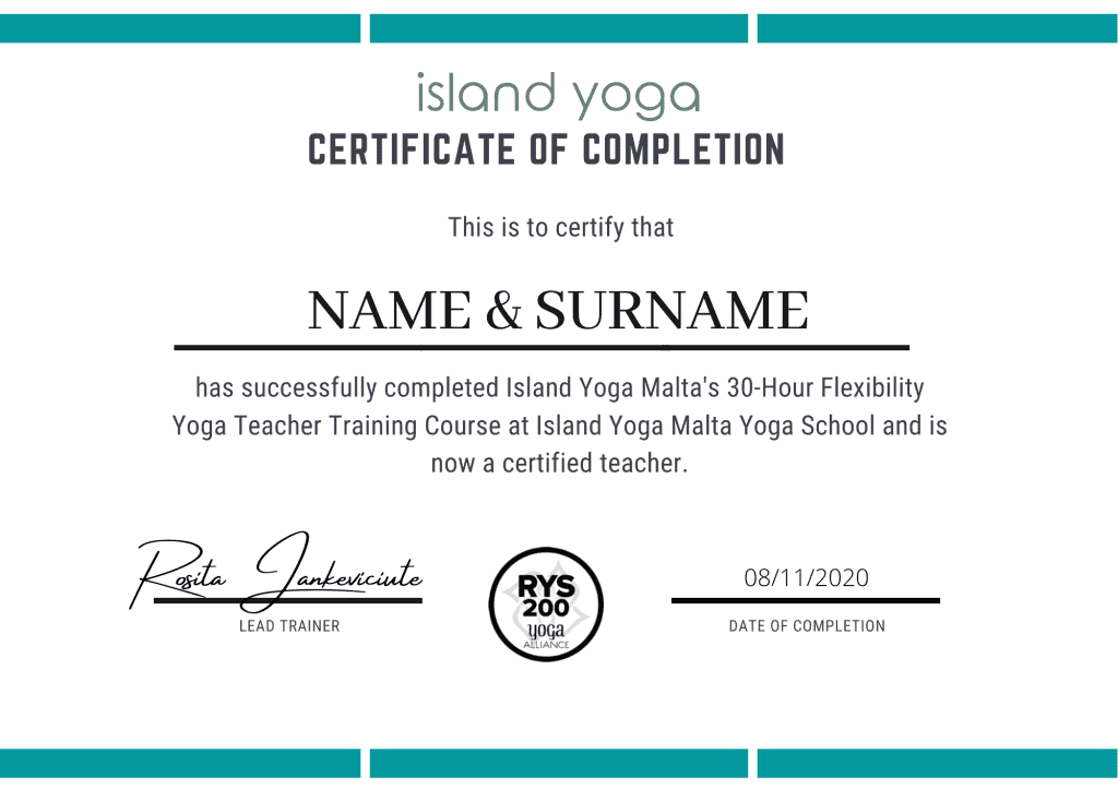 yoga teacher training malta